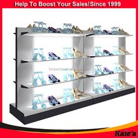 wholesale shoes stores display fixtures design