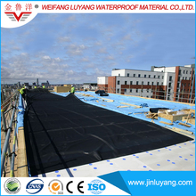 EPDM Rubber Sheet Waterproof Membrane for Exposed Roofing