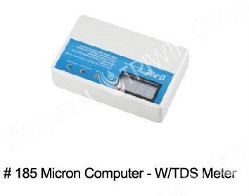 Micro computer controller with TDS meter