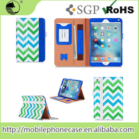 Best Selling Products In America Wave Printing Pu Leather Smart Tablet Case For ipad mini4
