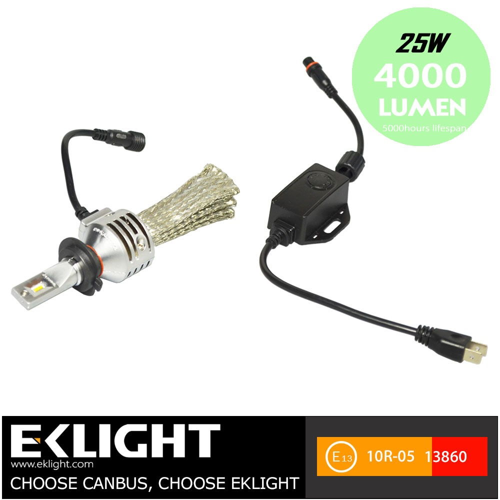 2016 Newest Product Led H4 Motorcycle Headlight H4 Led Headlight Bulbs H4 H7 Led High Low Beam