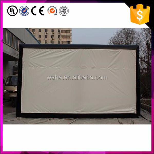 cheap price giant used inflatable movie projector screen
