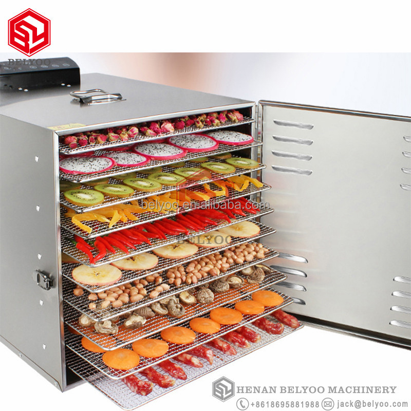 Automatic mango dehydrator/hot air oven price/stainless steel chilli dehydrating machine