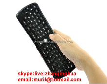 81 Key 3D T6 Fly Air Mouse Remote Control 2.4G Mini Keyboard for Smart android tv box\pc 3*AAA User Manual Wireless Receiver USB