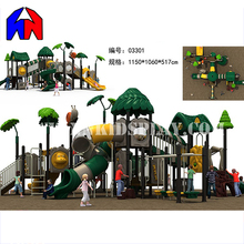 2017 Most Poplar Amusement Park Kids Outdoor Toys Large Slides Set Playground