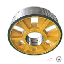Fujitec for elevator wheel,elevator rope wheel diversion sheave ,elevator lift spare parts