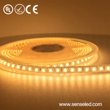 UL Listed IP65 12V 36LED 2.88W 210LM Per FT 16.4FT Roll 2400K Warm White Wireless Led Strip Light For Clothes