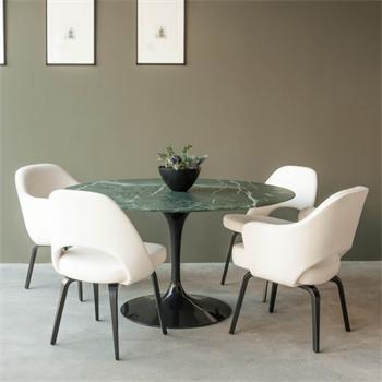 Hot Sale Cheap Eero Saarinen Round Tulip White Marble Dining Table   Buy  Tulip Dining Table,Eero Saarinen Tulip Table,Round White Marble Table  Product ...