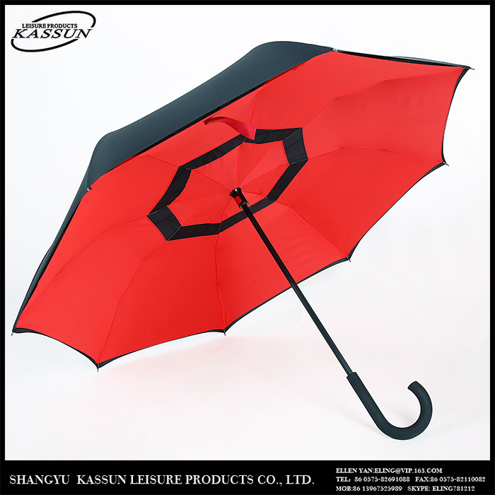 Professional made luxury logo printed colorful full body umbrella for sale