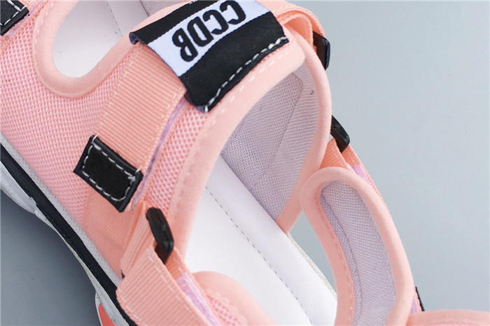 Fashion Women Sport Sandals Buckle Casual Creeper Shoes Ladies Open Toes