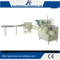 High Speed Automatic Trayless Biscuit Packing Machine For Biscuit Packing System