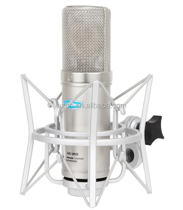 Large Diaphragm condenser recording microphone CM6 mkii,Professional studio condenser microphone,Handheld recordable microphone
