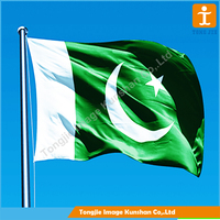 Cheap Pakistan national country flag Factory Wholesale Pakistan Flag