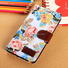 New Country Rural Wind Flowers Wallet Leather Case Cover Stand For Samsung Galaxy Note 3 N900