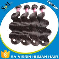 good quality ebony human hair yaki weaving oem hair products