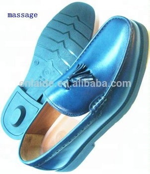 Italian Calf Leather Multi-function Massage diabetic Shoes