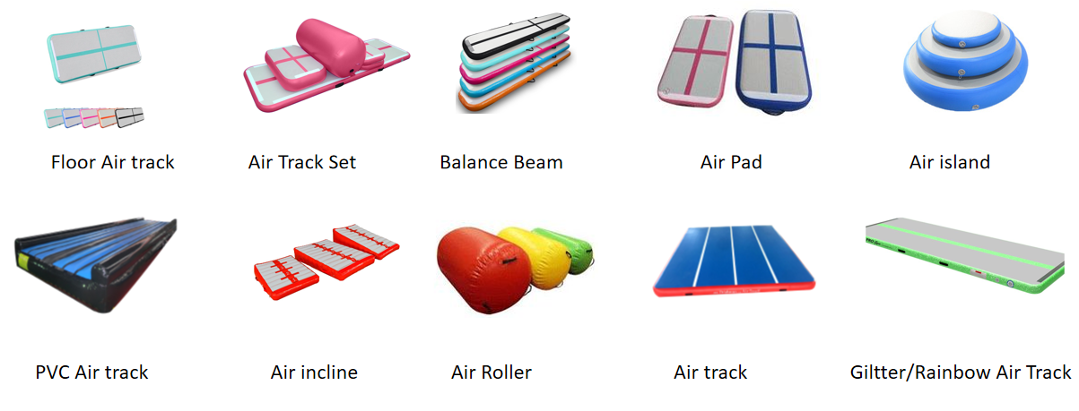 Gymnastics Exercise Air Tumble Track Fitness Inflatable Air Ramp For Sale
