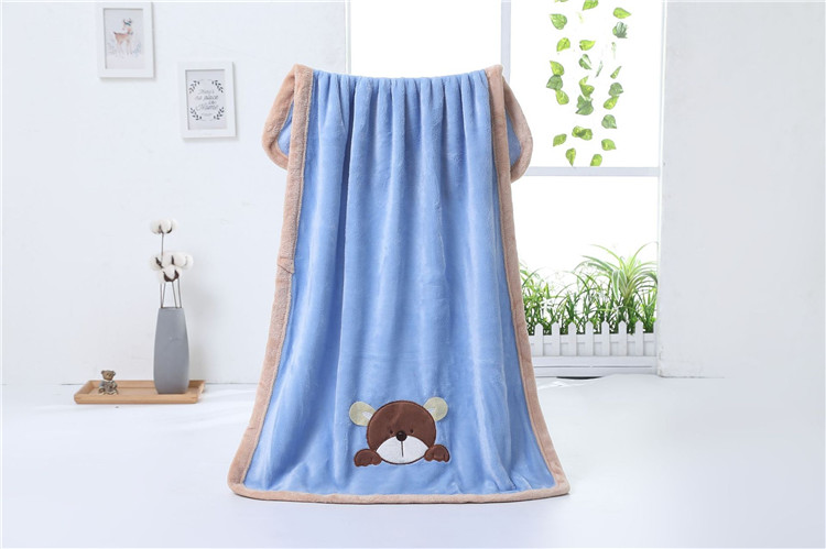 Factory wholesale wrap baby blanket winter blankets