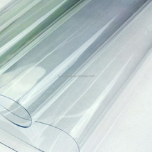 clear table protectors high quality PVC soft film in roll