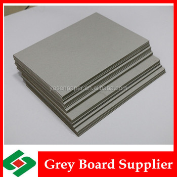High quality grey cardboard hard grey book binding board