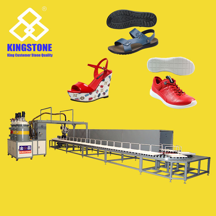 Kingstone 40 Stations PU Sole Injection Moulding Machine JL-298