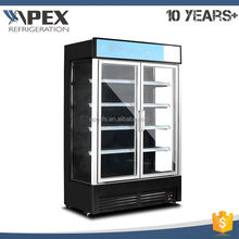 Factory provide SN,N climate type open display showcase / cooler multideck merchandiser
