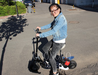 Cheap Prices CE Approved 50CC Gas Motor Scooter