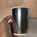 gold silver speical ripple wall 8oz 12oz paper cup