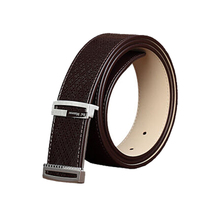 Custom Design Adjustable Buckle Man Leather Belt