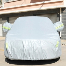 Anti-Dust Sunproof Hatchback Car Cover with Warning Strips