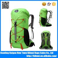 Large size Outdoor climbing backpack with water bladder men's backpack with laptop compartment