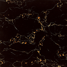 glitter glossy black and gold marble floor tiles