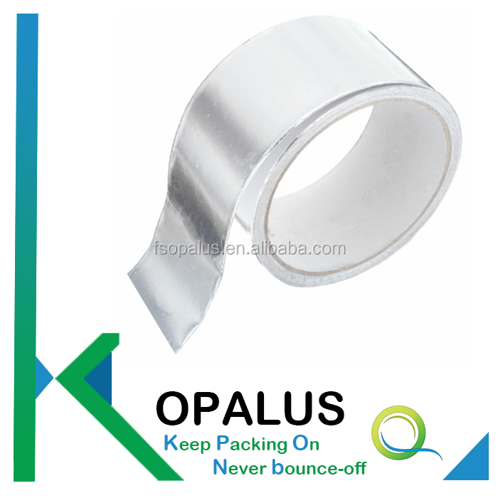 Customized adhesive backed aluminum foil sheets
