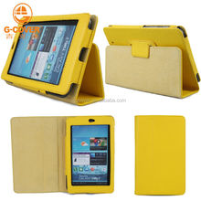 PU leather case For google nexus 7 cases