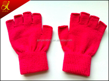 custom made gloves hotsale dispensing writing gloves with no finger