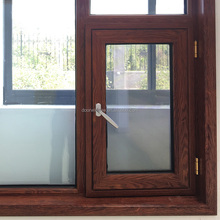 Free sample casement window with hinges and door thermal break profile insects proof screen