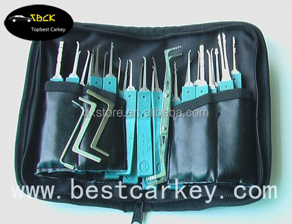 Usefully 32 pcs car repair tool , lock smith tool , lock pick set