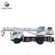 Maximum Lift Load 12 Ton Mini Mobile Type Truck Mounted Crane For Sale LXQY-12
