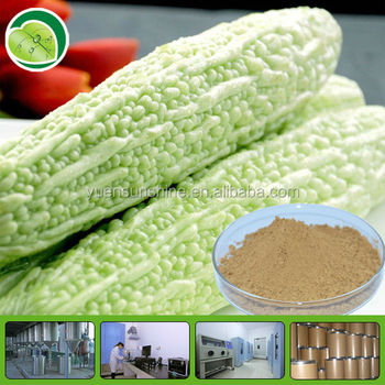 100% natural extraction of charantin bitter melon