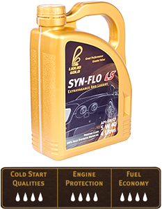 Liquid Gold Syn-Flo LS 5W40 (fully synthetic)