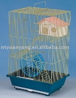 multifunctional nature wire hamster cage house home