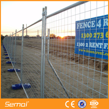 galvanized wire mesh fence, free standing fence panel,portable fence panel