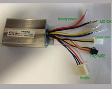 24V 250W brush motor controller brushed DC controller for e bike and electric scooter