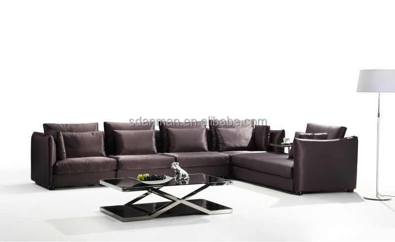 European style fabric sofa L-Shape (A9791)