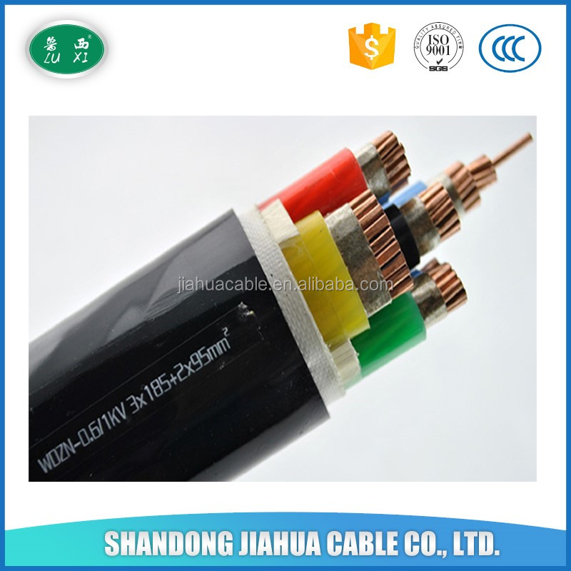 0.6/1KV 4 Core 5 Core 16mm XLPE/PVC Cables YJV