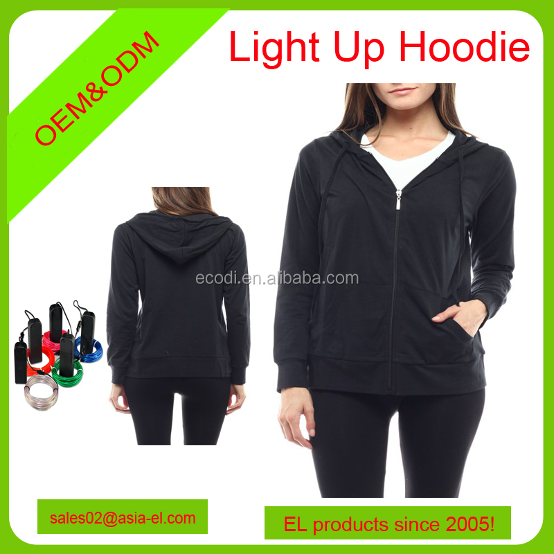 Exelent El Wire Hoodie Adornment - Electrical and Wiring Diagram ...