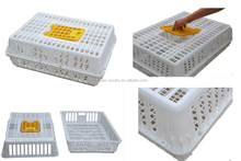 100% pure PE material folding livestock transport cages plastic chicken transport cage box