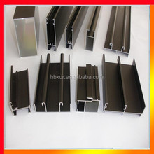 Anodized color powder coated pictures aluminum door window