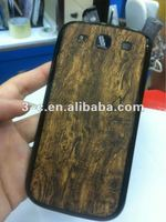 wooden case for samsung galaxy S3 i9300 mobile phone case