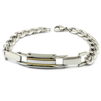 SSB100023 Cheap Sale Trendy Stainless Steel Fashion Chains Bracelet Manufacturer